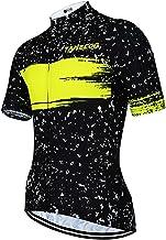 SUUKAA Heren wielertrui T-shirt Kleding Ride Korte mouw, Top wielrenners Fietsshirts, Ademend en zweetabsorberend, Sneldro...