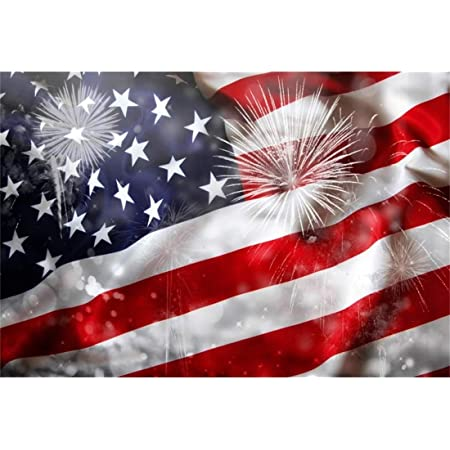 Yeele 6x6ft 4th of July Photography Backdrop Stars and Stripes Independence Day USA Parade Party Banner Patriotic Holidays Decoration Background American Signs Baby Boy Patriot Photo Studio Prop
