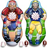 ImpiriLux Inflatable 5 Foot Tall Double Sided Football...