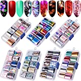 Duufin 70 Colors Nail Foil