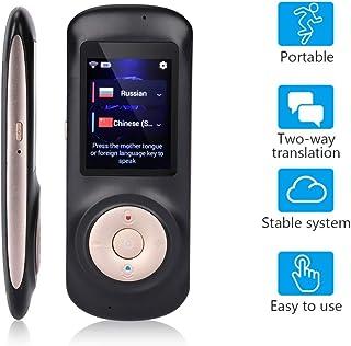 Balscw-F 52 Idiomas traductor de Voz WiFi portátil inalámbrico en Tiempo Real traducción instantánea de Voz intérprete Idi...
