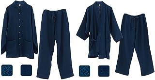 優柔 纏(まとい)ドビー織 作務衣&パジャマセット
