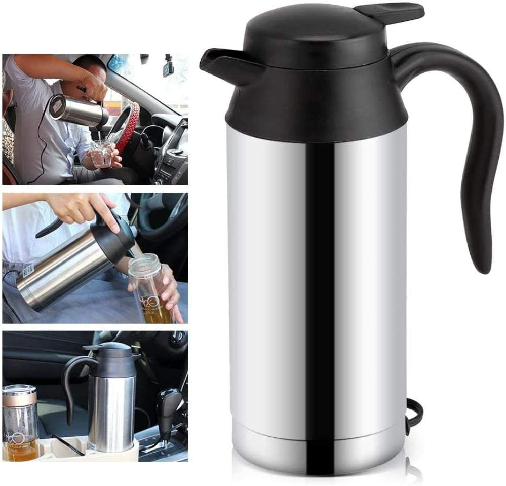 Online limited product SoarUp 12V 750ml Stainless Be super welcome Steel Kettle Car Temperature Control