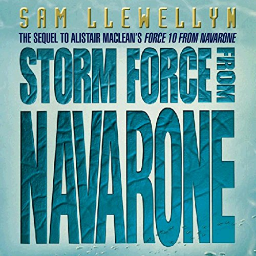 Storm Force from Navarone audiobook cover art