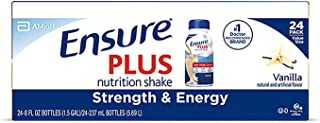 ENSURE PLUS VANILLA 57263 CASE OF 24 8 OZ [Health and Beauty] by Ensure