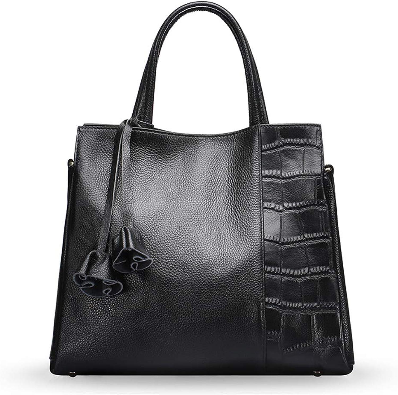Marwar Luxurious Women's Vintage Genuine Leather Tote Shoulder Bag
