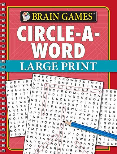 Brain Games Circle-a-Word - Large Print