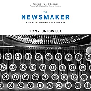 The Newsmaker audiobook cover art
