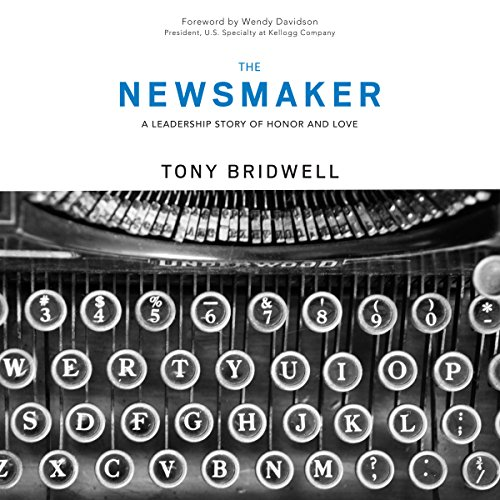 The Newsmaker audiobook cover art