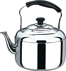 Water Pot Electric Kettle Accents Whistling Kettle, 6 L - Stainless Steel 304 Stainless Steel 1500w