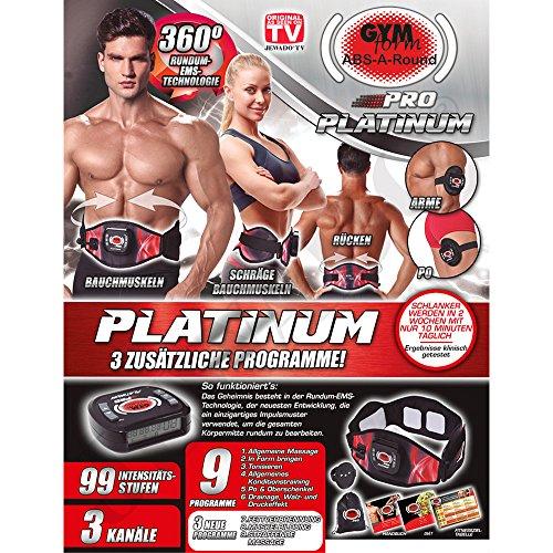 Gymform ABS a Round PRO Platinum Versione completa con 3 programmi aggiuntivi S/M, L/XL originale in TV