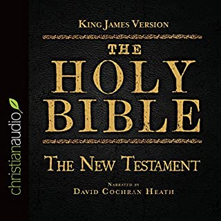 The Holy Bible in Audio - King James Version: The New Testament cover art