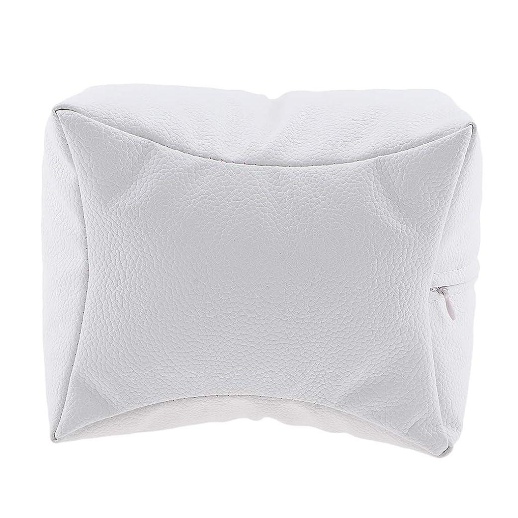 ロータリー北神学校Sharplace ネイルアート 手枕 ハンドピロー レストピロー ハンドクッション ネイルサロン 4色選べ - 白