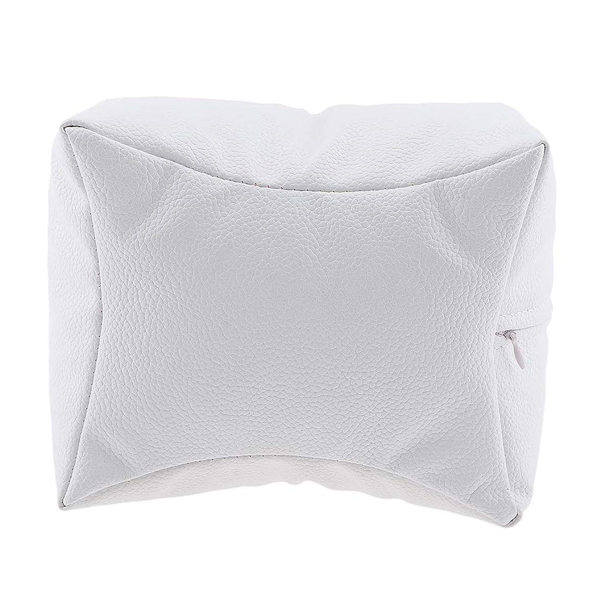 Sharplace ネイルアート 手枕 ハンドピロー レストピロー ハンドクッション ネイルサロン 4色選べ - 白