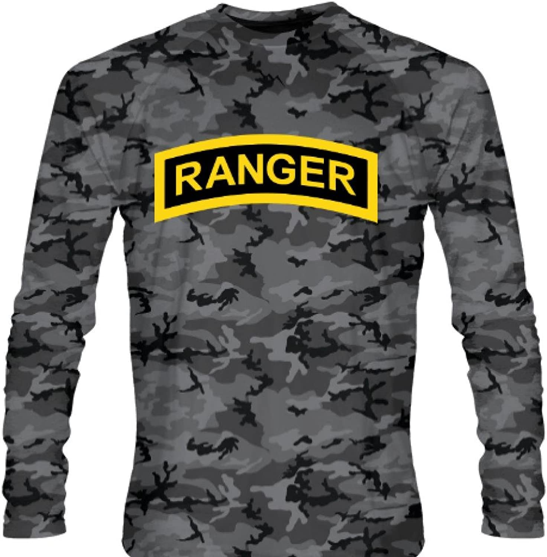 LightningWear Youth Blackout Army Ranger Long Sleeve Shirts  Long Sleeve Shooter Shirts Youth, Black