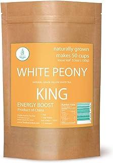Premium White Peony King Tea by Two for Tea. Natural White Peony King Tea drinks. Natural Loose Leaf White Peony King Tea ...