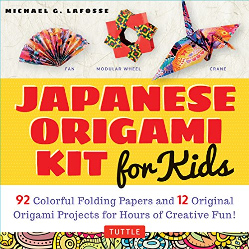 Compare Textbook Prices for Japanese Origami Kit for Kids: 92 Colorful Folding Papers and 12 Original Origami Projects for Hours of Creative Fun! [Origami Book with 12 projects] Book and Kit ed. Edition ISBN 9780804848046 by LaFosse, Michael G.