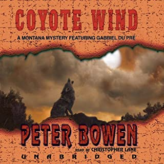 Coyote Wind                   By:                                                                                                                                 Peter Bowen                               Narrated by:                                                                                                                                 Christopher Lane                      Length: 4 hrs and 46 mins     123 ratings     Overall 4.0
