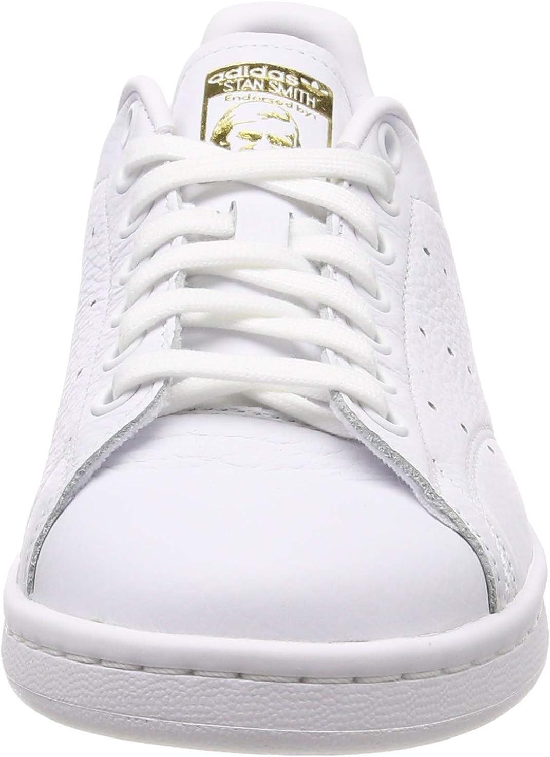 adidas Stan Smith W, Scarpe da Ginnastica Basse Donna Bianco White Cg6014