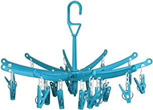 SahiBUY Round 24 Plastic Pegs Clip Hanger
