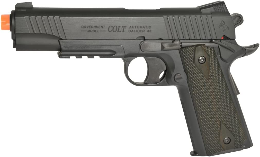 Animer and price revision Colt Soft Air Rail Airsoft Mail order Pistol