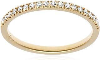 [ベルシオラ] ダイヤモンド イエローゴールド リング 4007431100203011 11号