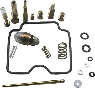 KIPA Carburetor Rebuild kit For YAMAHA YFM350R YFM350RSE Raptor 350 ATV 2004-2008 YAMAHA YFM350FX WOLVERINE 1996-2005 Carb Repair kit