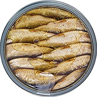 MW Polar Brisling Sardines, Smoked in Olive Oil, 4.25-Ounce