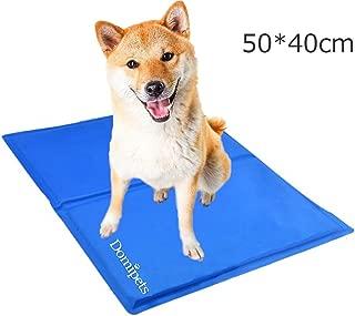 ペット冷え冷えシート 犬ひんやりマット 猫熱中症対策グッズ 犬用ジェルマット 冷感マット 夏用Mサイズ(50 *40cm)