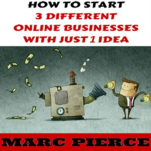 How to Start 3 Different Online Businesses with Just 1 Idea Titelbild