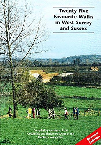 Twenty Five Favourite Walks in West Surrey and Sussex