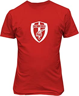TJSPORTS KF Skenderbeu Korce Albania T Shirt Soccer