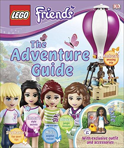 LEGO® Friends The Adventure Guide: Includes mini-doll