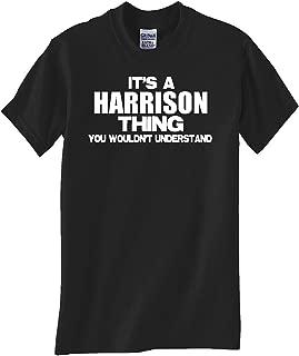 STUFF WITH ATTITUDE Harrison Thing Black T Shirt