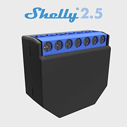 shelly 2.5 Wireless Dual relè Interruttore Intelligente domotica, Amazon Alexa e Google Home 1 pz - Confronta prezzi