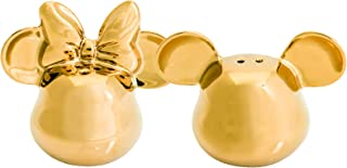 Joy Toy 62151Mickey Mouse Deluxe 3D Goldiger Salt and Pepper Set, Gold