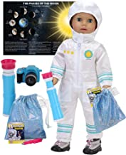 Sophia's Smithsonian 18 Inch Doll Astronaut Set Spacesuit, Telescope, Moon Rock Bag, Camera and More | 8 Pc Astronaut Set