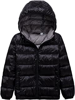 LANBAOSI Kid's Winter Lightweight Puffer Jacket Boy's Girl's Down Jacket