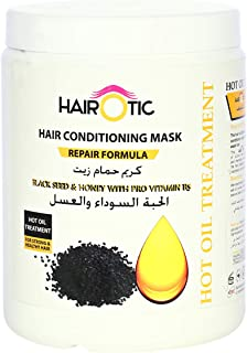 Hairotic Black Seed and Honey Hair Conditioning Mask, 1000 ml