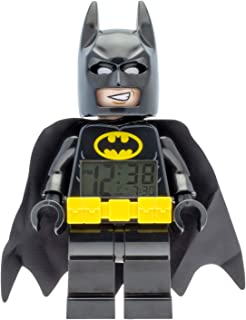 Reloj despertador infantil con figura de LEGO BATMAN.