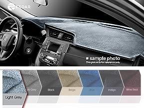 Fedar Compatible 2006-2010 Chrysler Pt Cruiser Dashcover Dashboard Cover Mat Pad-Light Grey