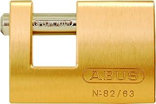 ABUS 82/63 Monoblock Solid Brass Padlock Keyed Different