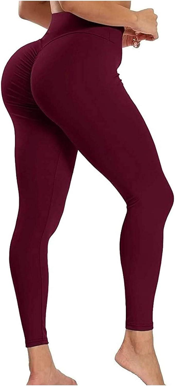 Yoga Pants for Women,Leggings for Women High Waist Yoga Pants Straight Leg Yoga Leggings Active Pants for Fitness Gym Sports