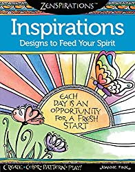 Inspirations designs to feed your spirit by Joanne Fink Zenspirations book