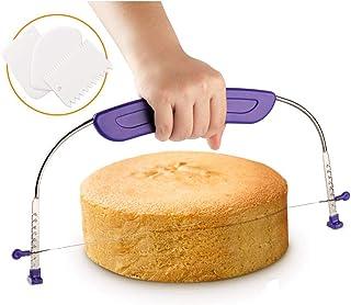 Noblik Outil de Pâtisserie Lissoir,Cuisson Unité Outils Wipe (Coupe-Gâteau) Lot de 3 ustensiles de cuisine pour faire des ...
