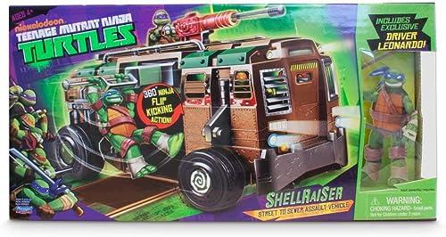 Teenage Mutant Ninja Turtles 94010s Shellraiser Fahrzeug Spielzeug mit Figur