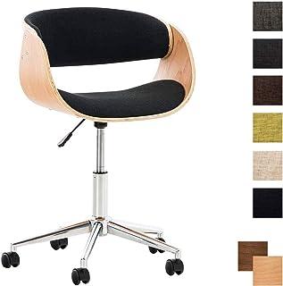 Amazon Fr Chaise Bureau Bois Clp