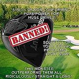#1 Illegal Worlds Longest Custom Driver Non-Conforming Banned 515cc Pure Magic Golf Club