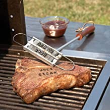 KAN DU Best Design Personality Steak Meat Barbecue BBQ Branding Iron with Changeable Letters 55, Steak Branding Irons - Barbeque Grill Accessories, Branding Iron Steak, BBQ in Baby
