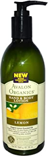 Avalon Organics Hand & Body Lotion Lemon 12 oz (340 ml)